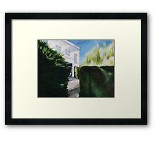 Rockwall Framed Print