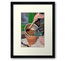 Coffee Roasting Technique Framed Print