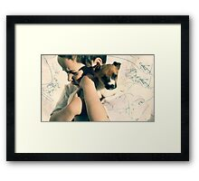 The Thoughtful Guy Framed Print