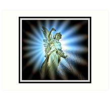 Guarding Angel Art Print