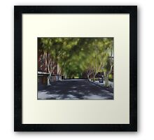 Macleay Street Framed Print