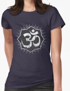 Vintage Om Symbol T-Shirt Womens Fitted T-Shirt