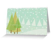 winter card Greeting Card