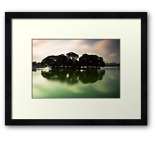 Experiments with time I Framed Print