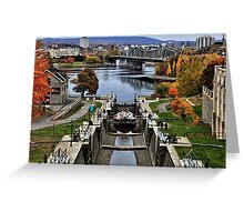 The Locks of Rideau Canal Greeting Card