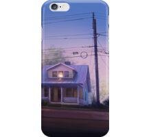 Evening Street iPhone Case/Skin