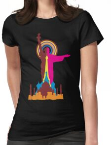 FIND YOUR WONDER Womens Fitted T-Shirt