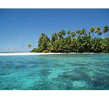 a stunning Bahamas landscape Photographic Print
