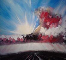 'Moorland Tracks 2' by Martin Williamson (©cobbybrook)