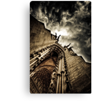 The Den of Sauron Canvas Print