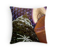 Festive Victoria Square - Belfast Throw Pillow