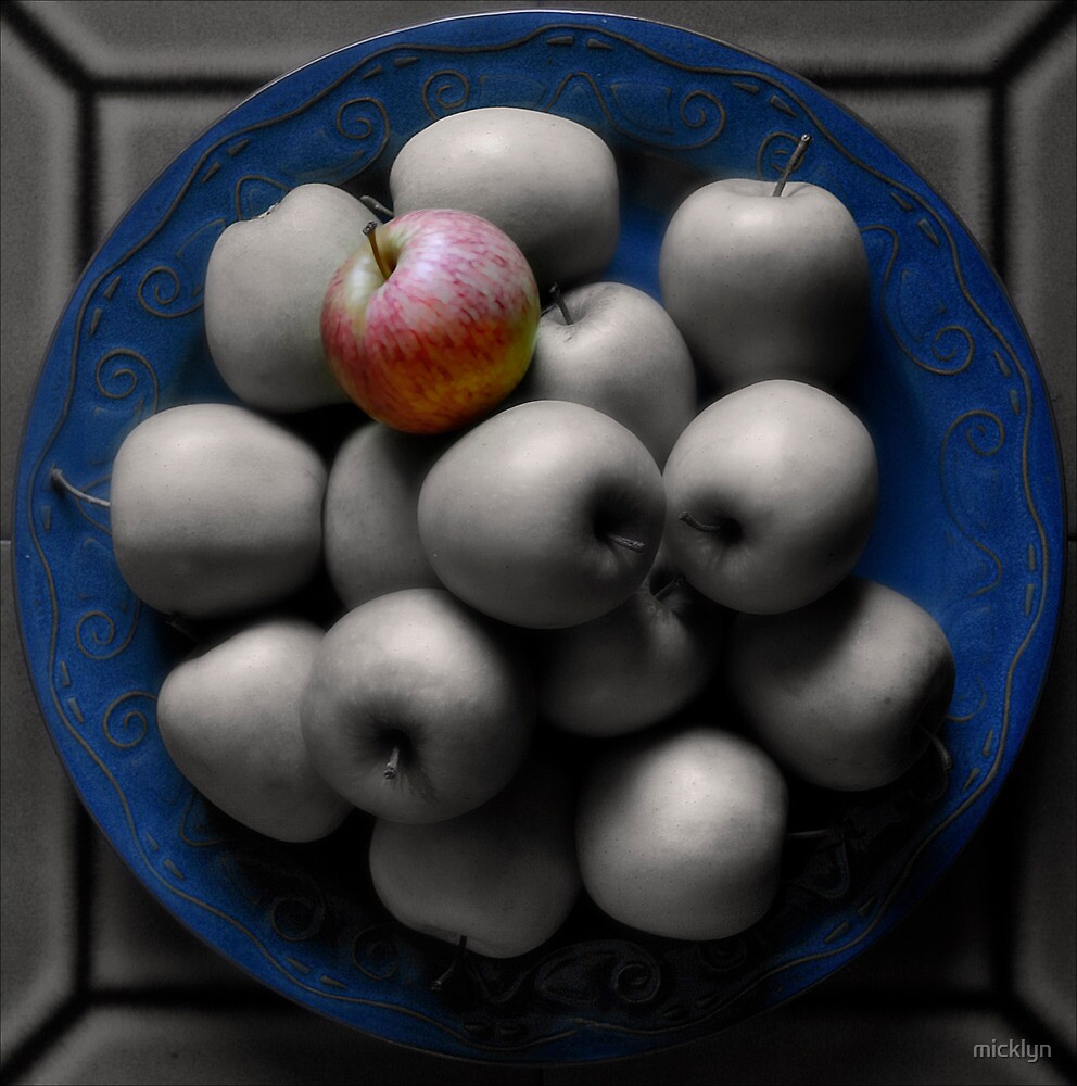 With an Apple, He Astonished by micklyn
