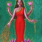 Goddess Lakshmi by Alice Mason