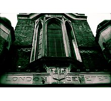 Highgate Cemetery (West) Entrance Photographic Print
