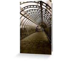 The Long Walk Home Greeting Card