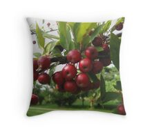 Crab Apples Throw Pillow