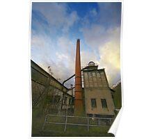 Industrial Landscape Poster