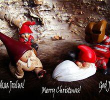 God Jul ~ Merry Christmas ~ Hauskaa Joulua by Merja Waters
