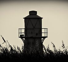 Lighthouse at Goldcliff by Edward Bentley