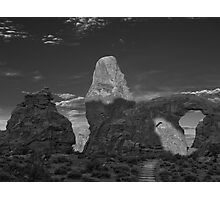 Turret Arch BW Photographic Print