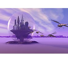 Attack on bubbled City Photographic Print