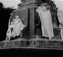 ghosts of monument by KreddibleTrout