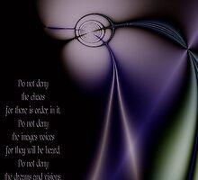 Her Vision w/poem by Susan L. Calkins