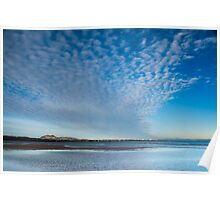Morning clouds, Musselburgh, Scotland Poster