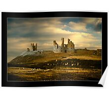 Dunstanburgh Castle - Northumberland Poster
