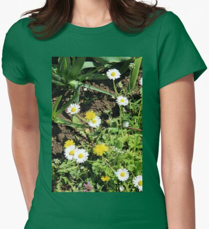 A Wild Patch Womens Fitted T-Shirt