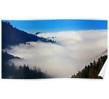 VALLEY IN CLOUDS Poster