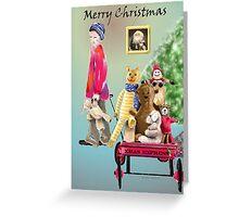 Christmas Express Greeting Card