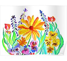 Assorted Flowers Poster