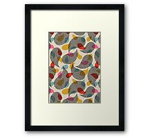 almost paisley, almost lace Framed Print