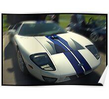 Ford GT-40 Sportscar Poster