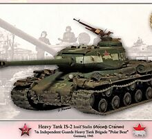 Soviet Tank IS-2 Iosif Stalin by A. Hermann