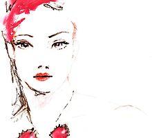 Lipstick Girl Z by Midori Furze
