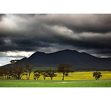 Approaching Storm - Stirling Range Photographic Print