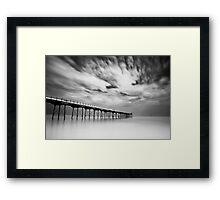 Saltburn Passing Framed Print