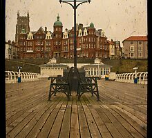 Pier Through The Lens by Paul Wilkin