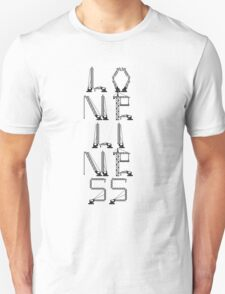 Loneliness of a Tower Crane Driver T-Shirt
