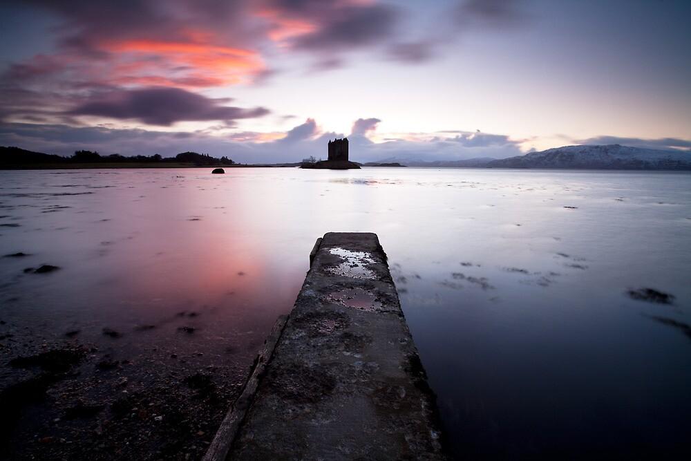Castle Stalker - Scotland by Doug Chinnery