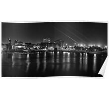 Cardiff bay at night Poster