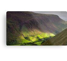 The valley at Tal y Llyn - North Wales Metal Print