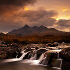 Storm Passing Sligachan - Skye by Doug Chinnery