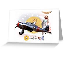 Seversky P-35 Greeting Card