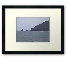 Punta Fariones, Lanzarote, Canary Islands Framed Print