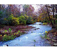 Arkansas Ozark Mountain Stream Photographic Print