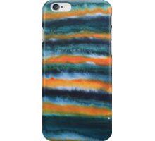 Orange and Green Stripes iPhone Case/Skin