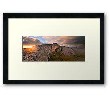 Mt Stapylton, Grampians, Australia Framed Print